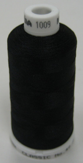 Madeira Rayon Classic 40 #1008 - Ruby Black