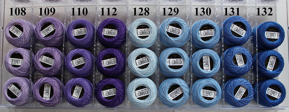 108 - 257 Anchor Pearl 12 Cotton