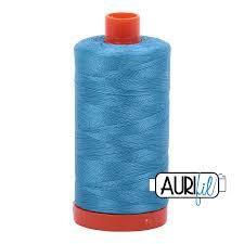 1320 bright teal Aurifil Thread 50 Wt 100% Cotton