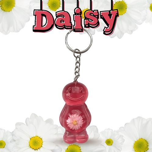 Daisy Red Jelly Baby Keyrings