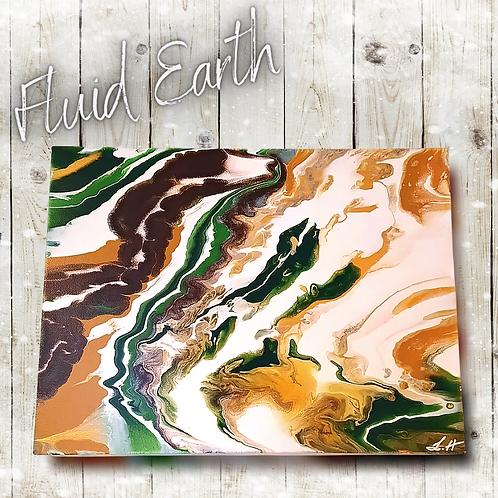 Fluid Earth (40x30cm)