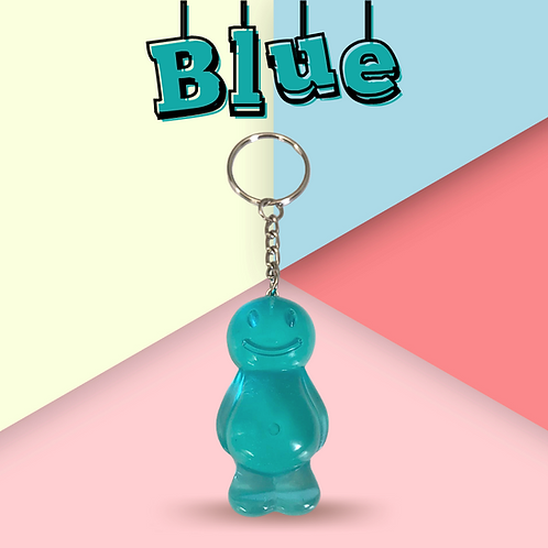 Blue v2.0 Jelly Baby Keyring