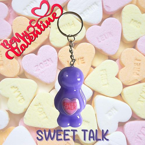 Sweet Talk Jelly Baby Keyring
