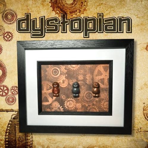 Dystopian Jelly Baby Picture (27.5x22.5cm)