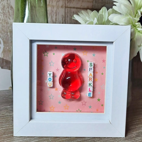 You Sparkle Jelly Baby Picture (12x12cm)