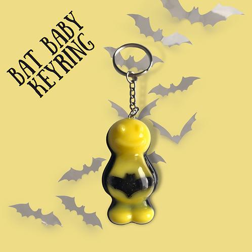 Bat Baby Jelly Baby Keyring