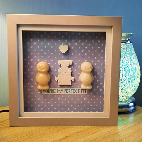 You're My Perfect Fit Jelly Baby Picture (20x20cm)
