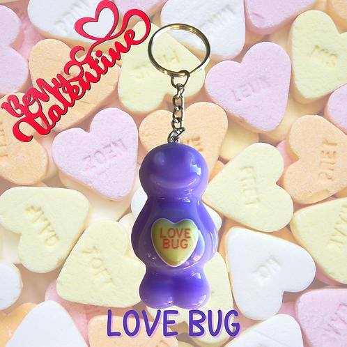 Love Bug Jelly Baby Keyring
