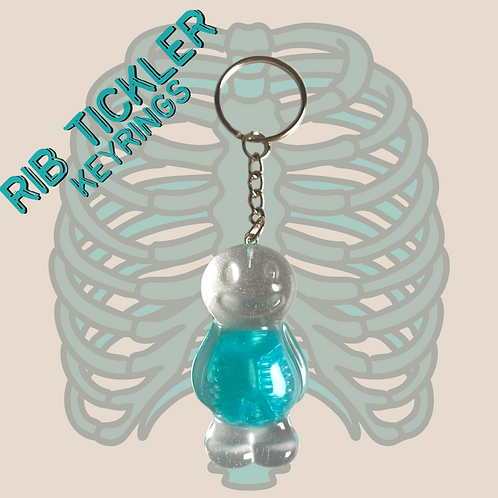 Rib Tickler Jelly Baby Keyring