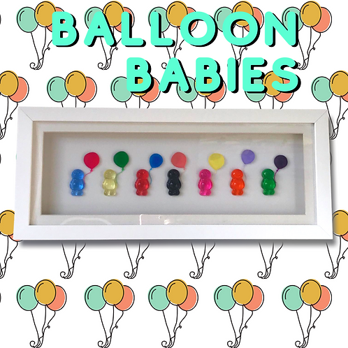 Balloon Babies Picture (44x19cm) - Balloon Collection