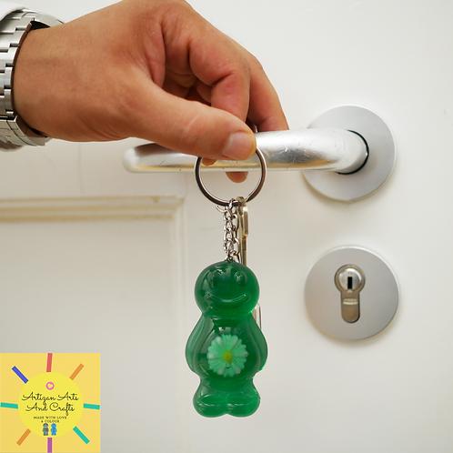 Daisy Green v2.0 Jelly Baby Keyrings