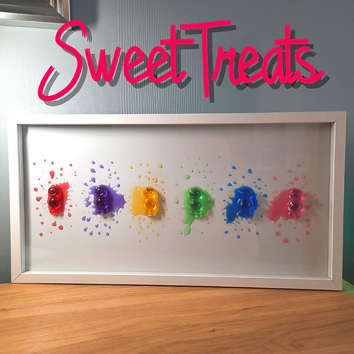 Sweet Treats Jelly Baby Picture (63x32cm)