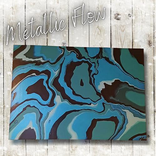 Metallic Flow (59x42cm)