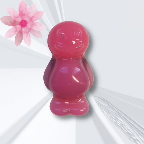 Pink Jelly Baby Magnet