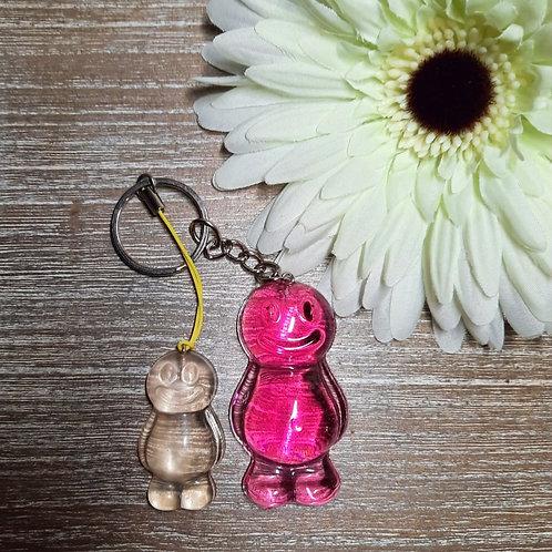 Mum And Child Jelly Baby Keyring