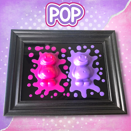 Pop Jelly Baby Picture (38x29cm)