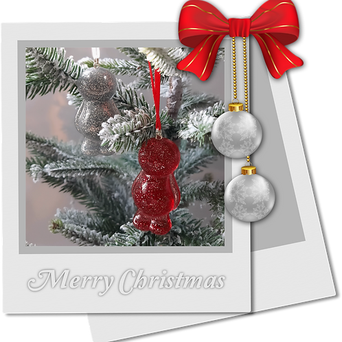 Jelly Baby Christmas Tree Decorations