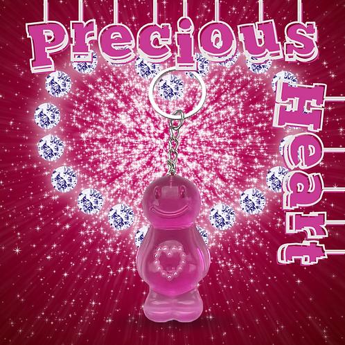 Precious Heart Jelly Baby Keyring