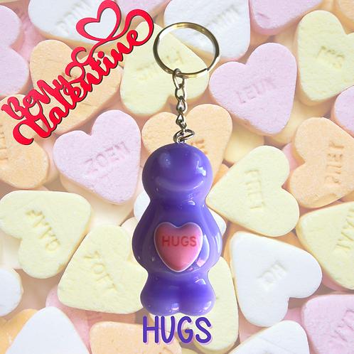 Hugs Jelly Baby Keyring