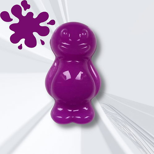 Purple Jelly Baby Magnet