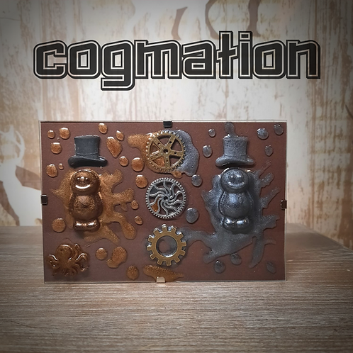 Cogmation Jelly Baby Glass Plaque (15x10cm)
