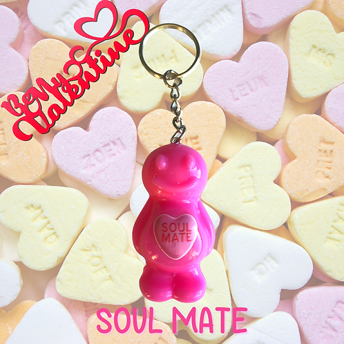 Soul Mate Jelly Baby Keyring