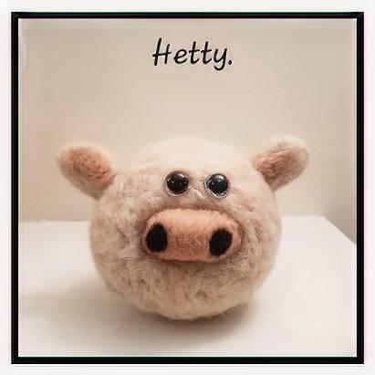 Needle Felting - Hetty