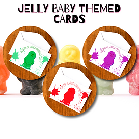 Jelly Baby Themed Card Website Thumbnail