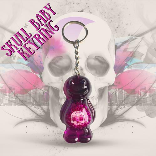 Skull Baby Jelly Baby Keyring