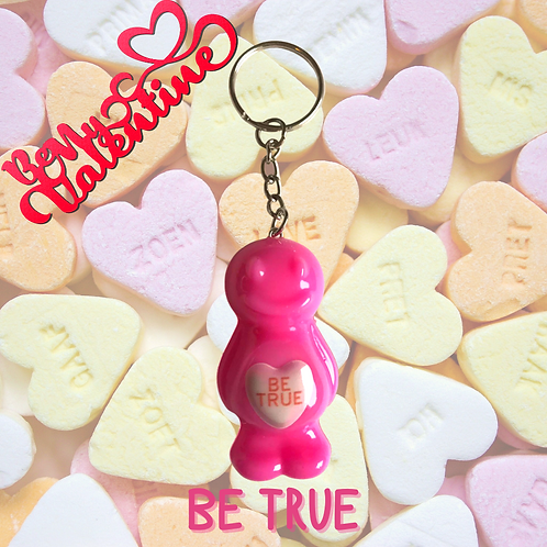 Be True Jelly Baby Keyring