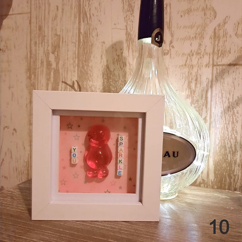 Framed Jelly Baby Pictures Collection (12x12cm)