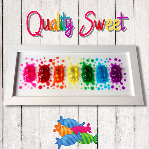 Quality Sweet Jelly Baby Picture (33x16cm)