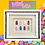 Thumbnail: Mini Mix Jelly Baby Picture (28x22.5cm)