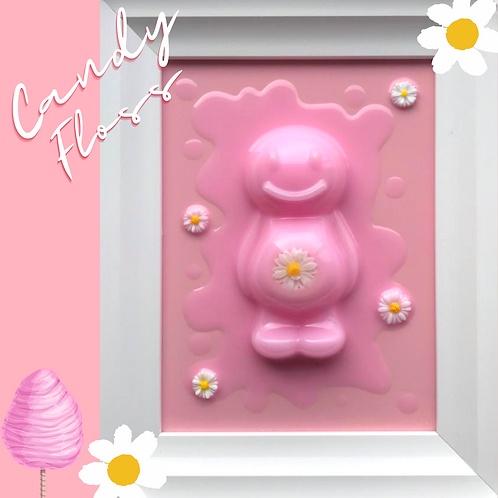 Candy Floss Jelly Baby Picture (24.5x29cm)