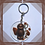 Thumbnail: Dad Clear Back Jelly Baby Keyring