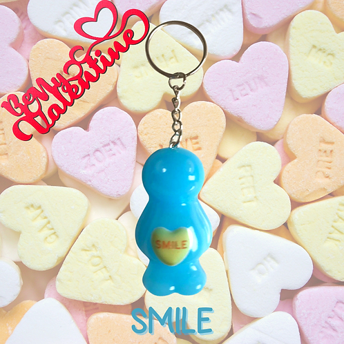 Smile Jelly Baby Keyring
