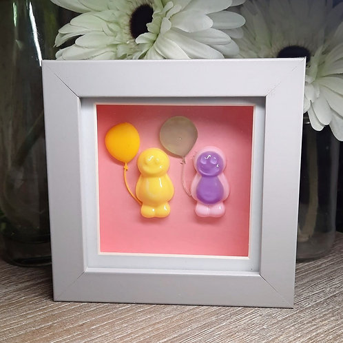 Jelly Baby Picture (12x12cm) - Balloon Collection