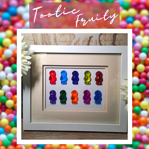 Tootie Fruity Jelly Baby Picture (27x23cm)