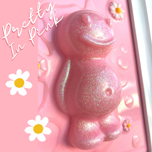 Pretty In Pink Jelly Baby Picture (24.5x29cm)