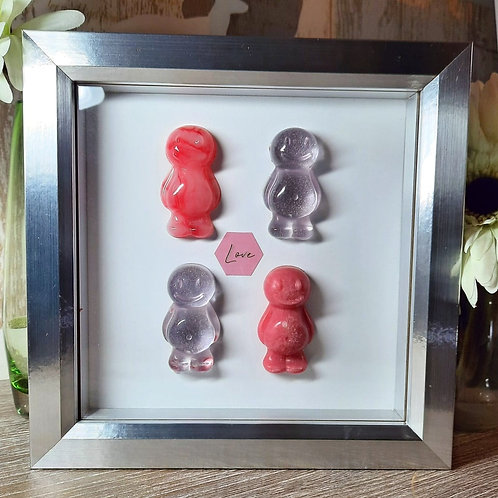 Love (Marble) Jelly Baby Picture (19x19cm)