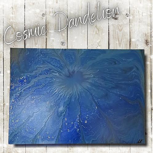 Cosmic Dandelion (59x42cm)