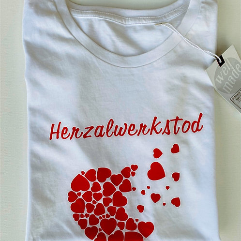 "T-Shirt ""Herzalwerkstod"""