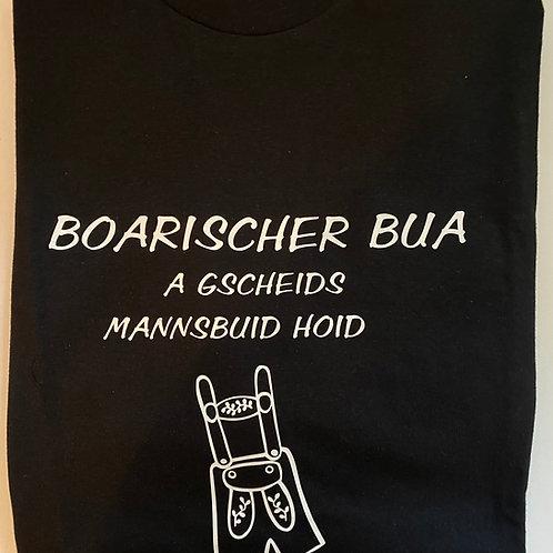 """T-Shirt """"Boarischer Bua"""""""