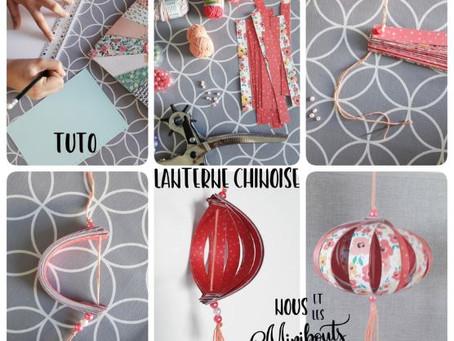 """D.I.Y. """"Do It Yourself"""" : Une lanterne chinoise en papier"""