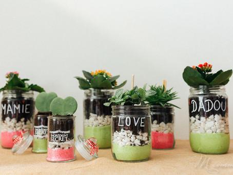 """D.I.Y. """"Do It Yourself"""" : Un pot fleurit spécial fête des grands-mères"""