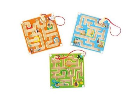 """""""J'ai testé..."""" Le labyrinthe magnétique et les cubes rotatifs animaux """"jungle&qu"""