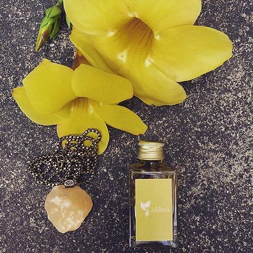 Kit#3 Óleo Colibris#3 Colar de Calcita Amarela