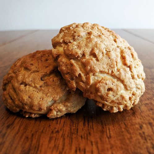 FRIDAY - Oatmeal Raisin Melon Pan