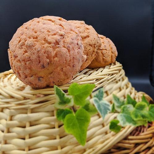 SATURDAY - Cranberry Orange Melon Pan