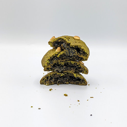 FRIDAY - Matcha Cookie with Black Sesame Mochi (2 pcs)